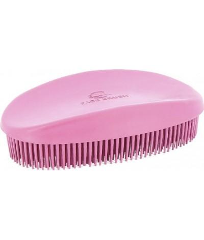 Ekkia Rubber Head Brush Pink