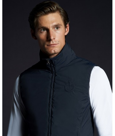 Cavalleria Toscana Nylon Stretch Sabre Sleeveles Jacket