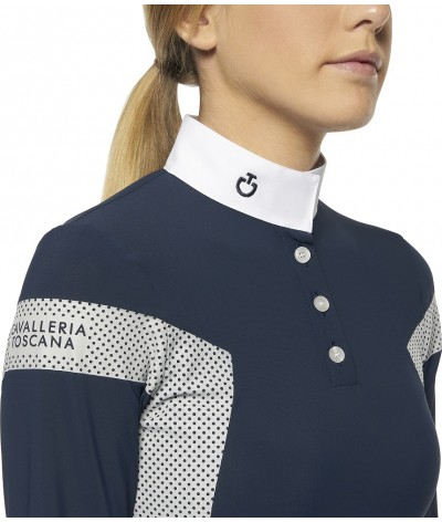 Jersey w/ Perforated Print...