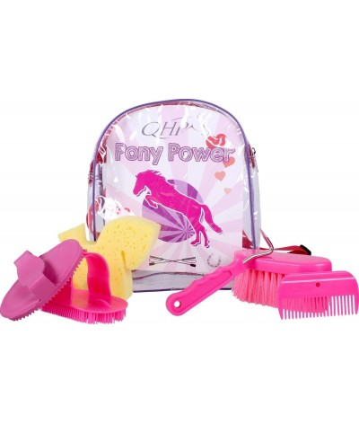 QHP Pony Power Clever Grooming Backpack