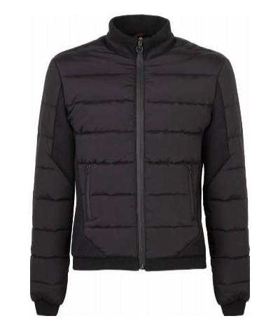 Cavalleria Toscana Childrens Jersey Fleece Jacket W/Rib Knit