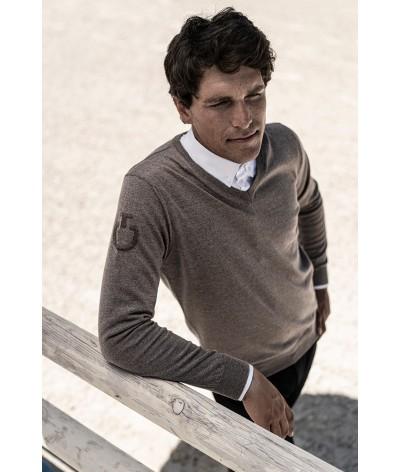 Cavalleria Toscana V-Neck Sweater