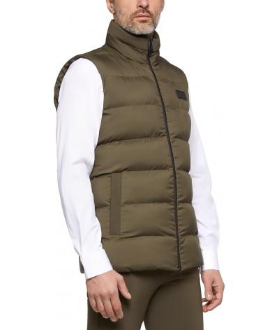 Hooded Vest W/Fleece Pocket...