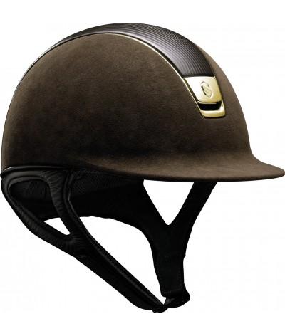 Samshield Cap Premium Brown + Top Leer + Chrome Gold